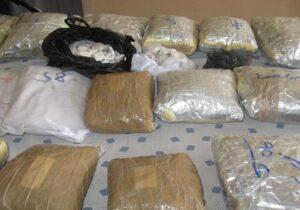 کشف ۲۰۷ کیلوگرم مواد مخدر در یزد