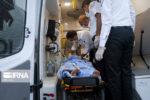 ۲۱ مجروح در حادثه واژگونی وانت حامل اتباع بیگانه غیرمجاز در میرجاوه
