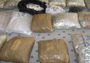 کشف بیشاز۳۷۱ کیلوگرم موادمخدر در سیستان و بلوچستان