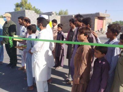 افتتاح ۳۶هزار مترمربع زیرسازی و آسفالت در روستاهای دلگان