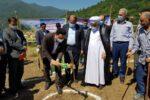 کلنگ زنی سایت همراه اول در روستای چینو