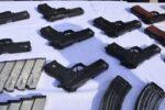 کشف۳۱ قبضه اسلحه در قصرشیرین