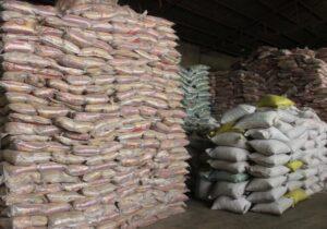 کشف۲۶ تن برنج قاچاق در ایلام