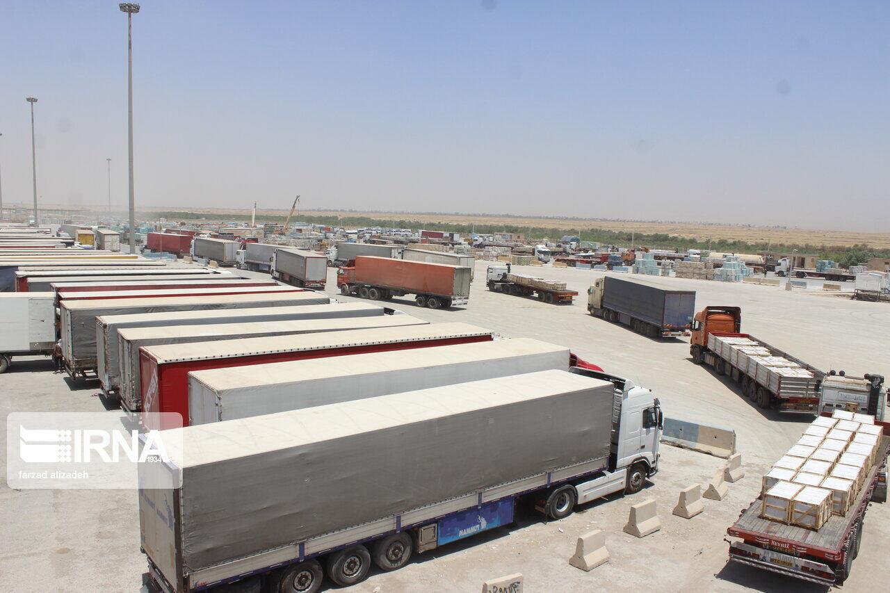 صدور۲۹۱ میلیون دلار کالا از مرز مهران به عراق
