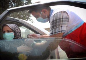 افزایش سرعت واکسیناسیون با همراهی جوانان هلال احمر گلستان